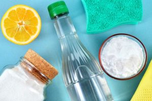 Reinigungsmittel gegen Gruenspan
