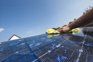 photovoltaik saeubern